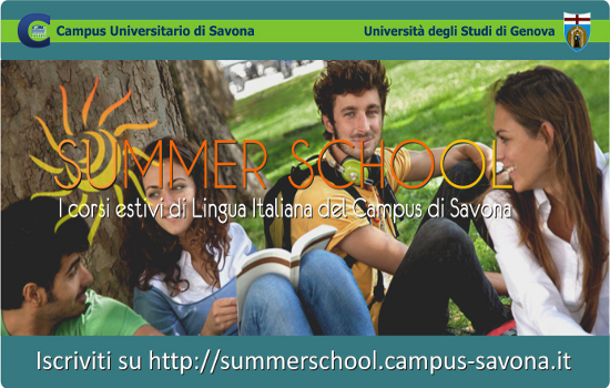 summerschool campus universitario di savona
